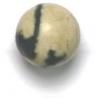 Semi-Precious 10mm Round Yellow Turquoise
